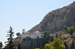 Panagia Katakekrymeni Portokalousa at Argos in Peloponnese , Greece Royalty Free Stock Image