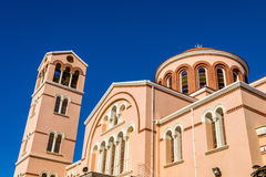 Panagia Katholiki Cathedral in Limassol Stock Photography