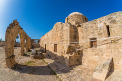 Panagia Katholiki Church. Kouklia village, Paphos District. Cypr Stock Images