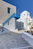 Panagia Korfiatissa church, Milos island, Greece Royalty Free Stock Photo