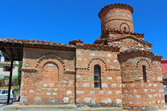 Panagia Koumbelidiki church, Kastoria, Greece Royalty Free Stock Photos