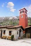 Panagia Mauriotissa Monastery Macedonia, Greece. Panagia Mauriotissa monastery,Meteora,Greece,Balkans Royalty Free Stock Photos