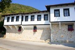 Panagia Mauriotissa Monastery Macedonia, Greece. Panagia Mauriotissa monastery,Meteora,Greece,Balkans Royalty Free Stock Image