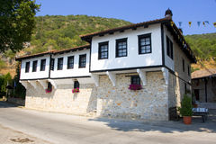 Panagia Mauriotissa Monastery Macedonia, Greece. Panagia Mauriotissa monastery,Meteora,Greece,Balkans Stock Images