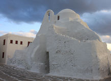 Panagia Paraportiani Church of Mykonos,Greece Royalty Free Stock Image