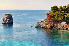 Panagia in Parga, Greece Royalty Free Stock Photos