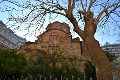panagia thessaloniki Греции церков chalkeon стоковая фотография rf