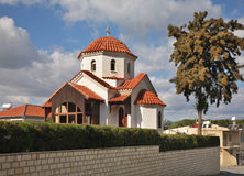 Panagia tou Tamana church in Kolossi near Limassol. Cyprus Royalty Free Stock Photography