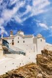 Panagitsa Tou Pirgou church in Skopelos Town Royalty Free Stock Photo