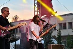 19/05/2018 Panagiurishte, Bulgaria. Rock band. Royalty Free Stock Photos