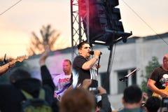 19/05/2018 Panagiurishte, Bulgaria. Rock band. Stock Image