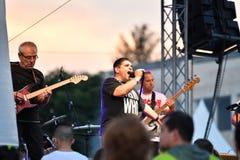 19/05/2018 Panagiurishte, Bulgaria. Rock band. Royalty Free Stock Image