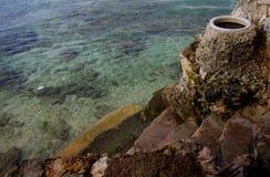 Panagsama Beach Steps Royalty Free Stock Photo