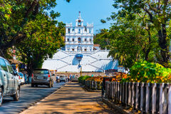 Panaji - Our Lady of the Immaculate Conception Church Stock Images