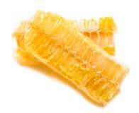 Panal de la abeja con la miel Foto de archivo libre de regalías