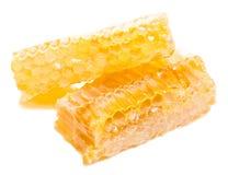 Panal de la abeja con la miel Foto de archivo