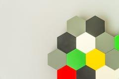 Panal inconsútil multicolor Imagen de archivo