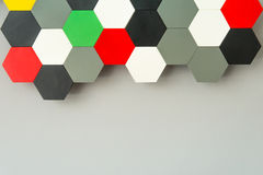 Panal inconsútil multicolor Imagen de archivo libre de regalías