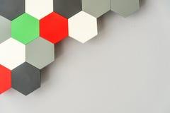 Panal inconsútil multicolor Fotos de archivo libres de regalías