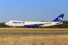 Panalpina cargo plane Royalty Free Stock Images