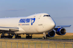 Panalpina cargo plane Stock Images