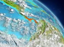 Panamá de la órbita ilustración del vector