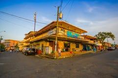 PANAMÁ, PANAMÁ - 16 DE ABRIL DE 2015: Opinião da rua de Foto de Stock Royalty Free