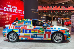 PanAm Games Decorated Chevrolet in the CIAS Royalty Free Stock Photography