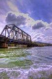 Panama Bridge. Bridge crossing a portion of the Panama Canal Stock Image