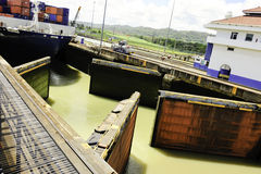 Panama Canal Royalty Free Stock Photography