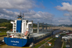 Panama canal Royalty Free Stock Images