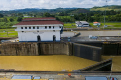 Panama canal Royalty Free Stock Image