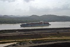Panama canal extension  VII Stock Images