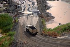 Panama canal extension  VIII Stock Photo