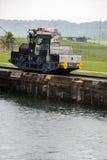Panama Canal - Gatun Locks Stock Photos