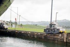 Panama Canal - Gatun Locks Stock Image