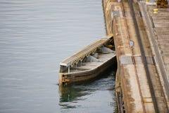 Panama Canal Lock Gate Royalty Free Stock Photography