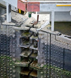 Panama Canal Lock Gate Stock Photos