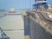 Panama canal royalty free stock image