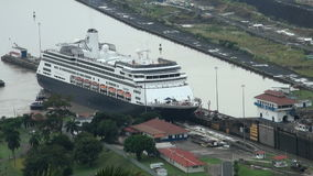 Panama Canal, Panama - November 2013 stock video