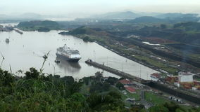 Panama Canal, Panama - November 2013 stock video footage
