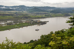 Panama Canal - Pedro Miguel Lock Stock Images