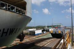 Panama Canal Scene Stock Photography