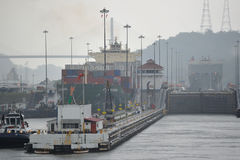 The Panama Canal Stock Photography
