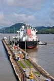 Panama channel lock Royalty Free Stock Image