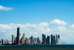 Panama City. With buildings by the water Stock Photography