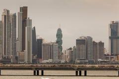 Panama City Foto de archivo libre de regalías