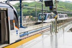 Metro panama city Royalty Free Stock Photos