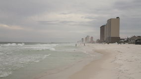 Panama city beach stock footage