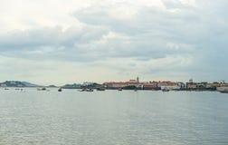 Panama city Casco Viejo. Casco Viejo, old town in Panama City Stock Photo